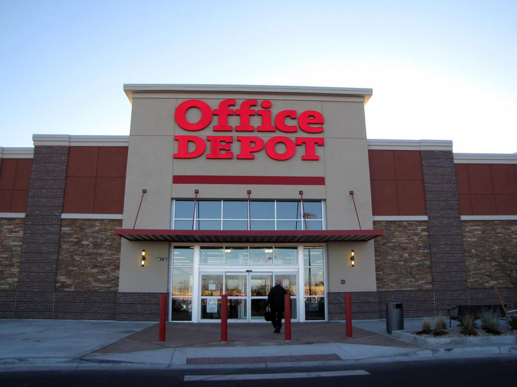 office depot on havana street. Black Bedroom Furniture Sets. Home Design Ideas